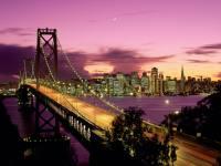 现代大都市夜景商务背景图片
