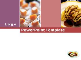 美食主题PPT模板
