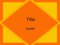 菱形色彩主题PPT模板