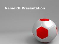 足球主题简约PPT模板