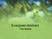 绿色抽象派PPT模板