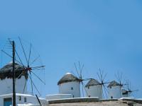 蓝色风车PPT模板