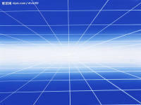 蓝色恢弘科技创世纪互联网PPT背景
