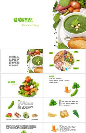 食物营养搭配健康饮食PPT
